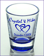 North Carolina custom shot glasses