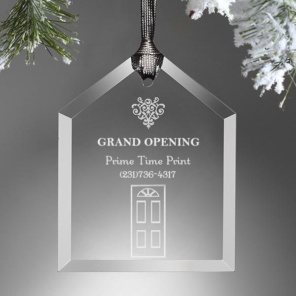 custom grand opening ornaments