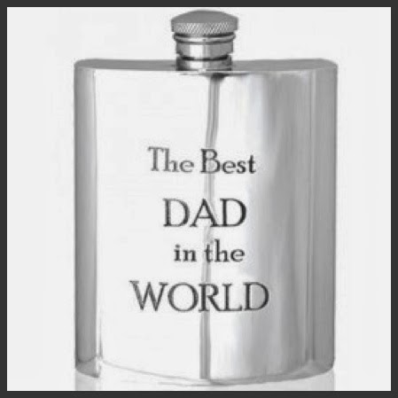 fathers day dads birthday flask gift