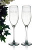Wedding Flute set of two glasses