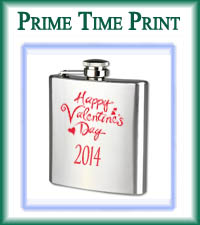 Valentines Day Flask 2014