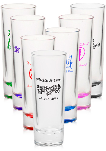 personalized shot glass shooters from prime time print 2 ounce shots