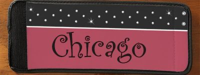 Customized Can Wrappers - Chicago example with pink style