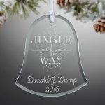 Custom Christmas Tree Ornament X-mas holiday gifts