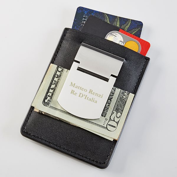 Customized Money Clip Personalized and custom made by Prime Time Print