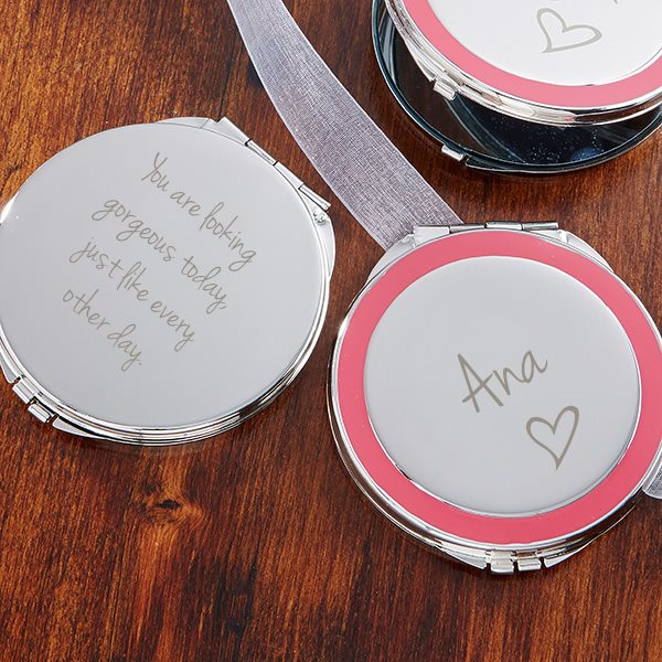 Customized Mirror personalized gifts for her
